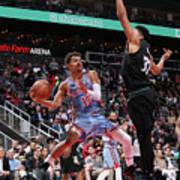 Minnesota Timberwolves V Atlanta Hawks Art Print