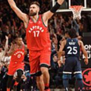 Minnesota Timberwolves V Toronto Raptors Art Print