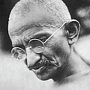 Mohandas K. Gandhi Art Print