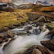 Mountains North Wales Art Print