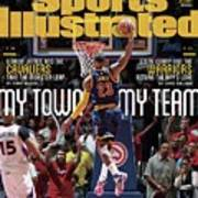My Town, My Team LeBron James And The Cavaliers Take The Sports Illustrated Cover Art Print