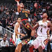 New Orleans Pelicans V Atlanta Hawks Art Print