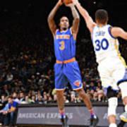 New York Knicks V Golden State Warriors Art Print