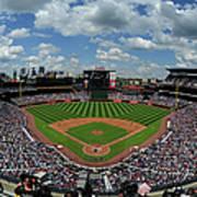 New York Mets V Atlanta Braves Art Print