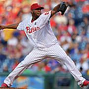 New York Mets V Philadelphia Phillies Art Print