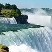 Niagara Falls From The Usa Side Art Print