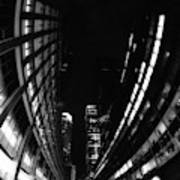 Nyc In Black And White Vii Art Print