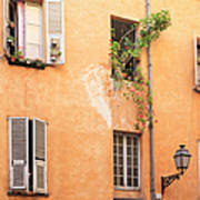 Old Town Of Nice, French Riviera, France Art Print