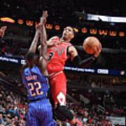 Orlando Magic V Chicago Bulls Art Print