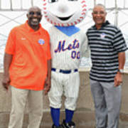 Ozzie Smith, Mookie Wilson And Mr. Met 1 Art Print