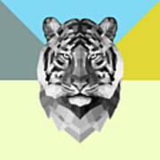 Party Tiger Art Print