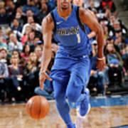 Philadelphia 76ers V Dallas Mavericks Art Print