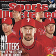 Philladelphia Phillies Starting Five, 2011 Mlb Baseball Sports Illustrated Cover Art Print