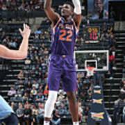 Phoenix Suns V Memphis Grizzlies Art Print