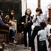 Photo Of Creedence Clearwater Revival Art Print
