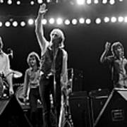 Photo Of Tom Petty & The Heartbreakers Art Print