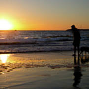 Playa del Rey Sunset Art Print