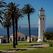 Point Vicente Lighthouse Art Print