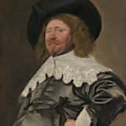 Portrait Of A Man  Possibly Nicolaes Pietersz Duyst Van Voorhout  Art Print