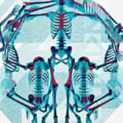 Pulchra Mors / Rgb Geometric Art Print