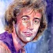 Robin Gibb Portrait Art Print