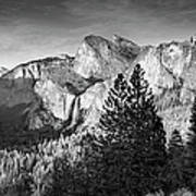 Rocky Mountains Overlooking Rural Art Print