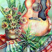 Room For Guitar Art Print