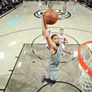 Sacramento Kings V Brooklyn Nets Art Print
