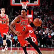 Sacramento Kings V Chicago Bulls Art Print