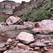Salt River Canyon Arizona Art Print