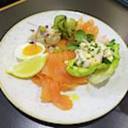 Seafood Platter Art Print