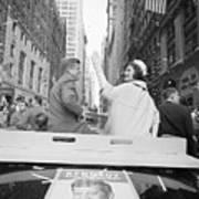 Senator John Kennedy And Jackie Kennedy Art Print