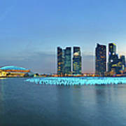 Singapore Marina Bay Art Print