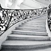 Staircase In Paris Art Print