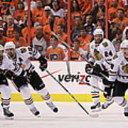 Stanley Cup Finals - Chicago Blackhawks Art Print
