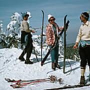 Sugarbush Skiing Art Print