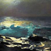 Sunlight On The Coast - Digital Remastered Edition Art Print