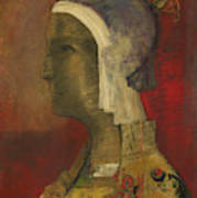 Symbolic Head, 1890 Art Print
