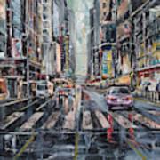 The City Rhythm Art Print