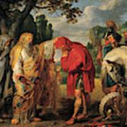 The Consecration Of Decius Mus        Art Print