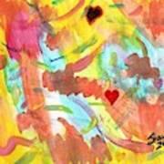 The Dance Of Spring Art Print