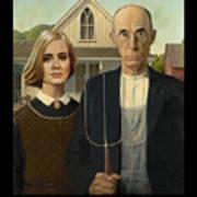 The Farmer And Adele Art Print