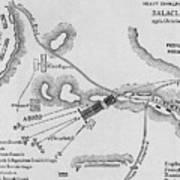 The Heavy Cavalry Charge At Balaclava Art Print