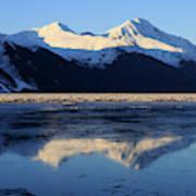Turnagain Arm And Kenai Mountains Alaska Art Print
