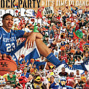 University Of Kentucky Anthony Davis, 2012 March Madness Sports Illustrated Cover Art Print