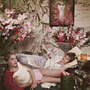 Ursula Andress Art Print
