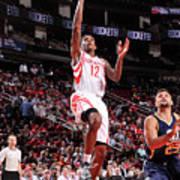 Utah Jazz V Houston Rockets Art Print