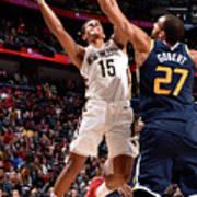Utah Jazz V New Orleans Pelicans Art Print
