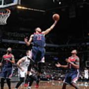 Washington Wizards V Brooklyn Nets Art Print