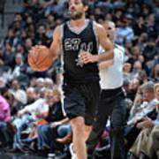 Washington Wizards V San Antonio Spurs Art Print